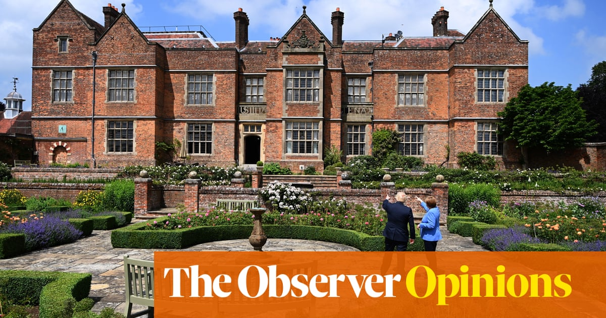 That's the trouble with Chequers: it makes you forget you might have some work to do