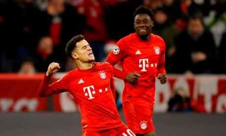 Bayern Munich 3-1 Tottenham Hotspur: Champions League – as it happened