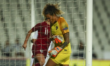 Portugal 0-1 England: women's international football friendly – as it happened