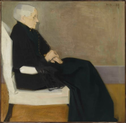 Helene Schjerfbeck, My Mother, 1909.