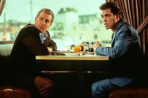 Robert De Niro and Ray Liotta in Goodfellas
