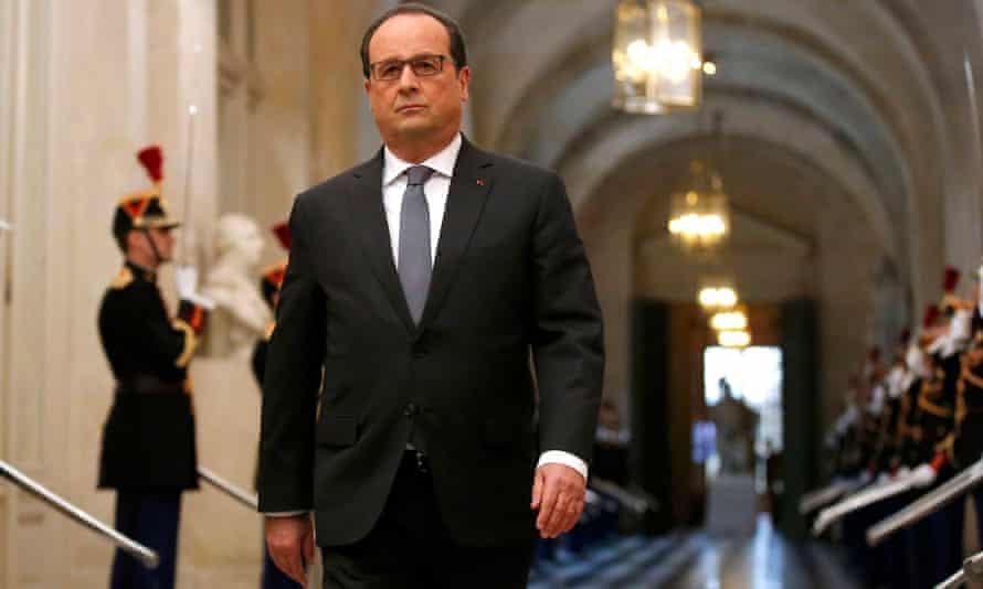 Veritable transformation … François Hollande.