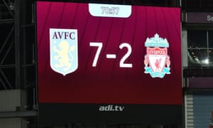 Liverpool are already back at the top of the league after their 7-2 mauling at Aston Villa.