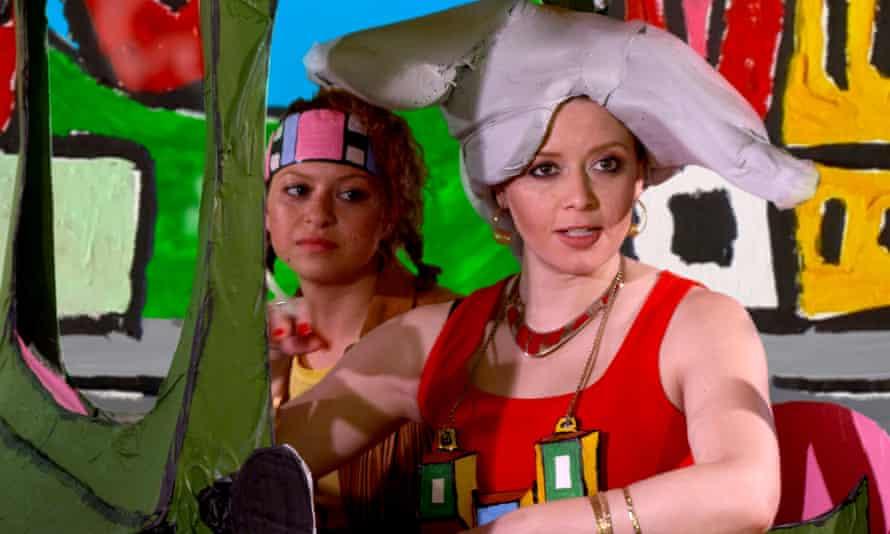 Alia Shawkat as Emily and Natasha Lyonne as Mom.
