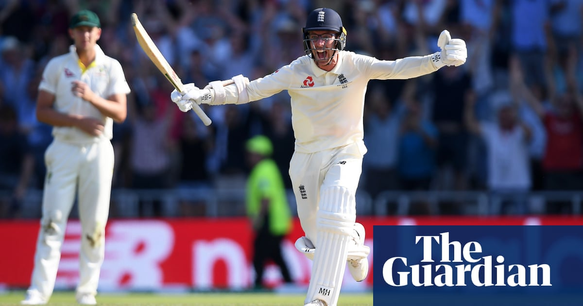 From 'village cricketer' to cult hero: Jack Leach relives his 17-ball epic | Vic Marks