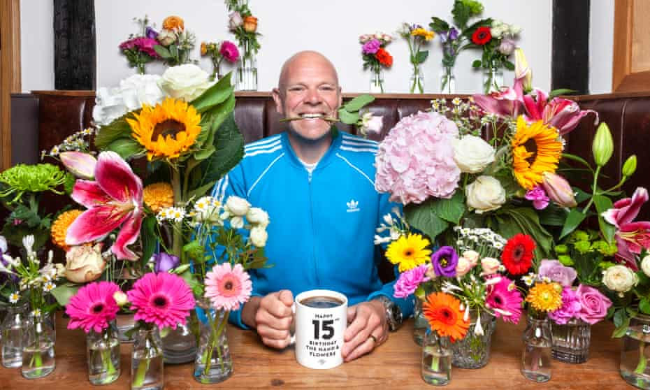 Chef Tom Kerridge at his restaurant, the Hand and Flowers, Marlow.