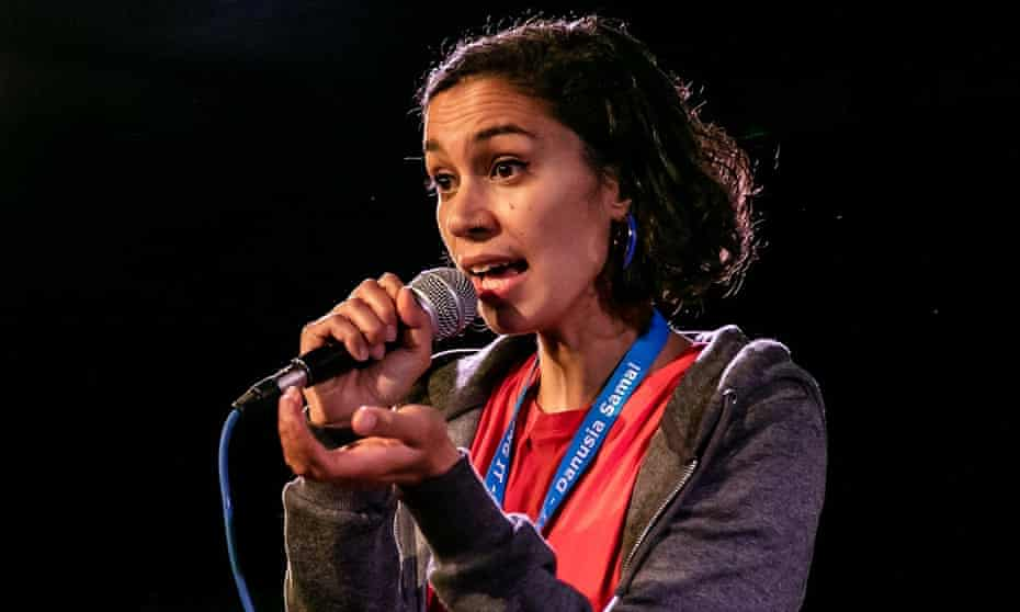 'I wrote Busking It to be performed by a woman of any race' ... Danusia Samal.
