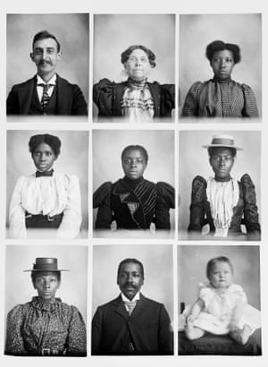 Magnum loved self-portraits too, and he appears here in the top left. Though the south of his era was marked by disenfranchisement, segregation and inequality, Mangum portrayed all of his sitters with candour, humour and spirit. In short, he showed them as individuals