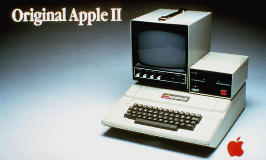 An advertisement for the Apple II computer