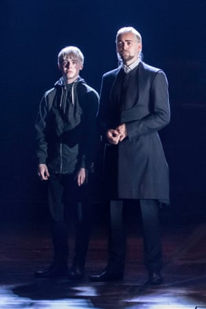 25. Harry Potter and the Cursed Child L-R Anthony Boyle (Scorpius Malfoy) and Alex Price (Draco Malfoy) Press contact:Janine.Shalom@premiercomms.com