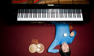Lang Lang photographed at Steinway Hall, Marylebone, for Observer Food Monthly.