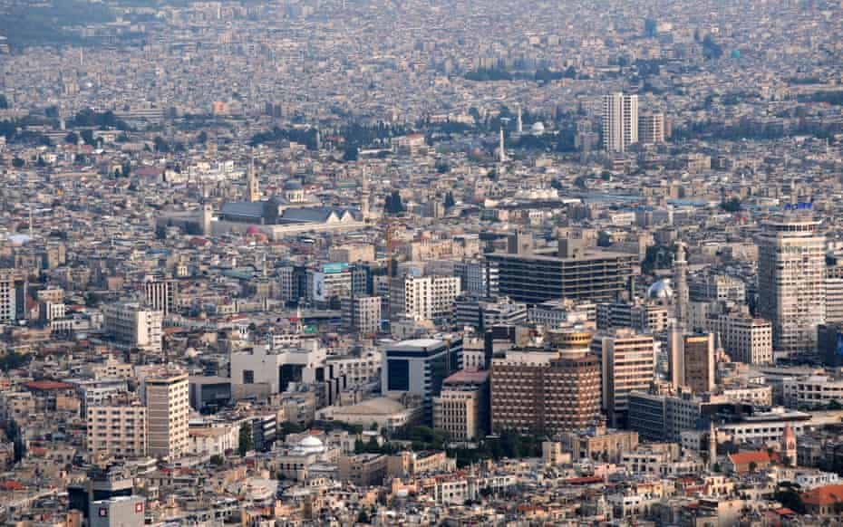 Damascus in 2011, the year civil war broke out in Syria.