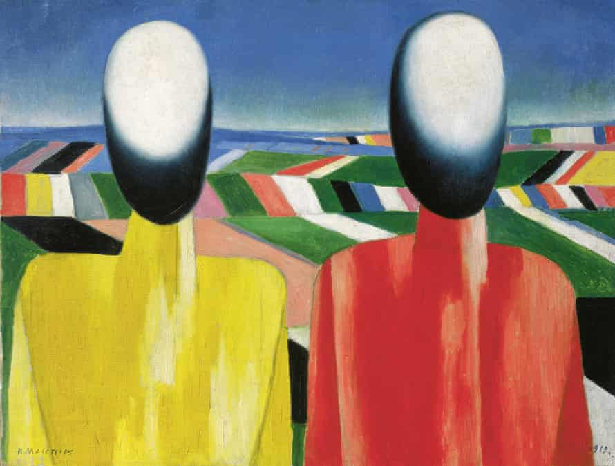 Kazimir Malevich's Peasants (1930).