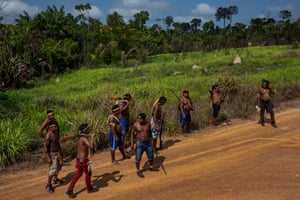 The warriors expelled land-grabbers and ranchers from their land