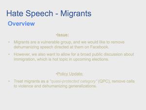 Hate Speech 29