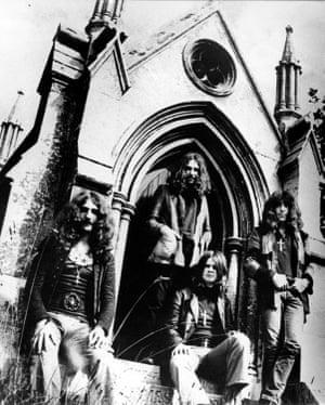 Black Sabbath, circa 1970.