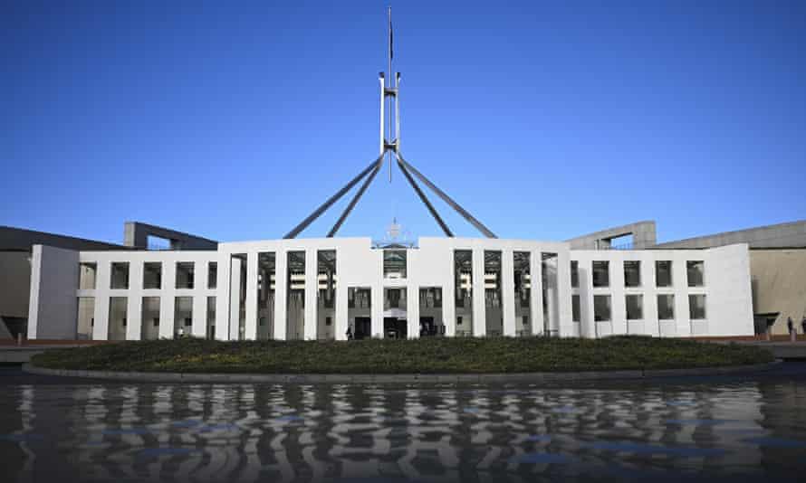 Federal parliament in Canberra