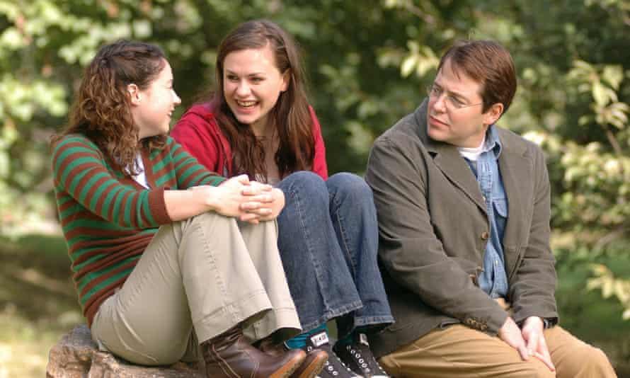 Sarah Steele, Anna Paquin and Matthew Broderick in Margaret.