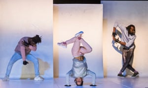 Body-pops … Scandale by Pierre Rigal at Sadler's Wells and part of Breakin' Convention.