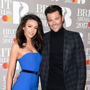 Mark Wright at the Brit awards