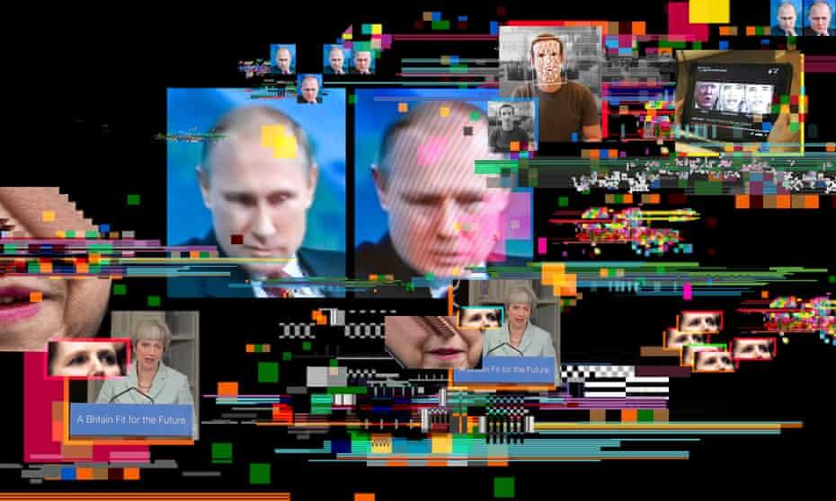 Various images of fake CGI