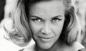 Honor Blackman in 1964.