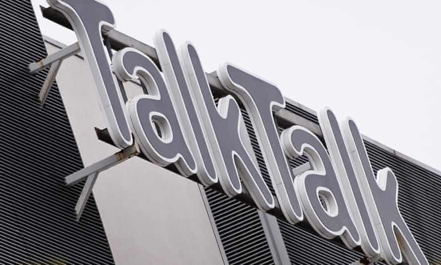 TalkTalk's headquarters in west London.