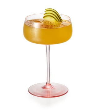 Nut job: the pearfect is a nutty, fruity number from Edinburgh's Southside Scran.