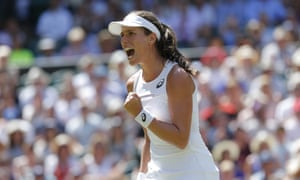 Johanna Konta took revenge on Donna Vekic, who had knocked her out of Nottingham in the first round.