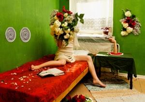 Shooting Star, 2012 by Mari Hokkanen, 'like some Nordic Cindy Sherman'.