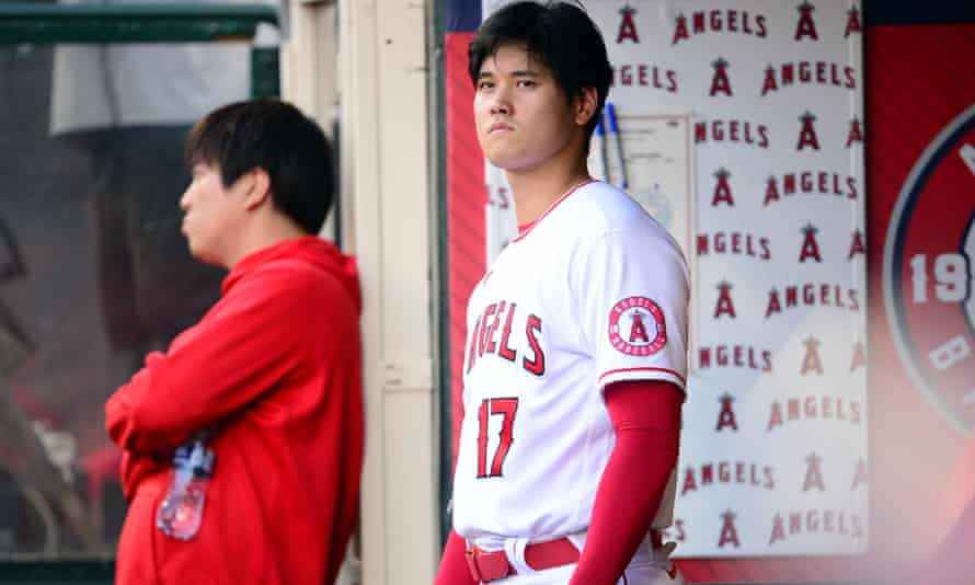 Shohei Ohtani is leading the majors in home runs this year