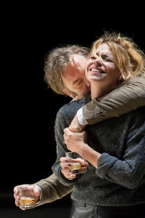 Brendan Cowell and Billie Piper in Yerma at the Young Vic.