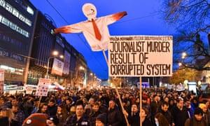 Jan Kuciak protest