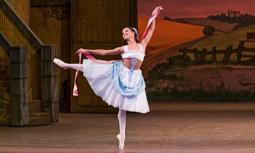 Francesca Hayward in La Fille Mal Gardée at the Royal Opera House