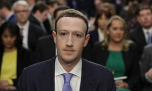 Mark Zuckerberg appears before Congress to testify over the company's use of data.