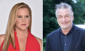 Amy Schumer and Alec Baldwin.