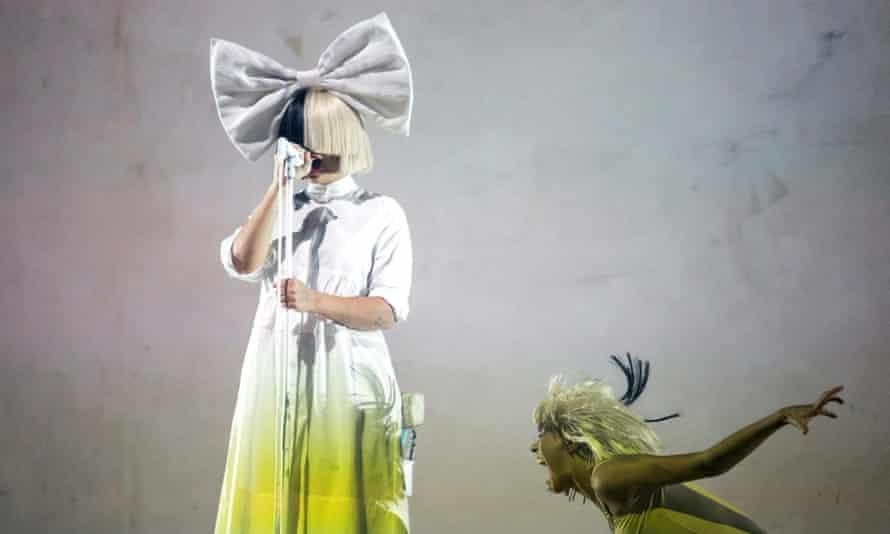 Australian singer Sia