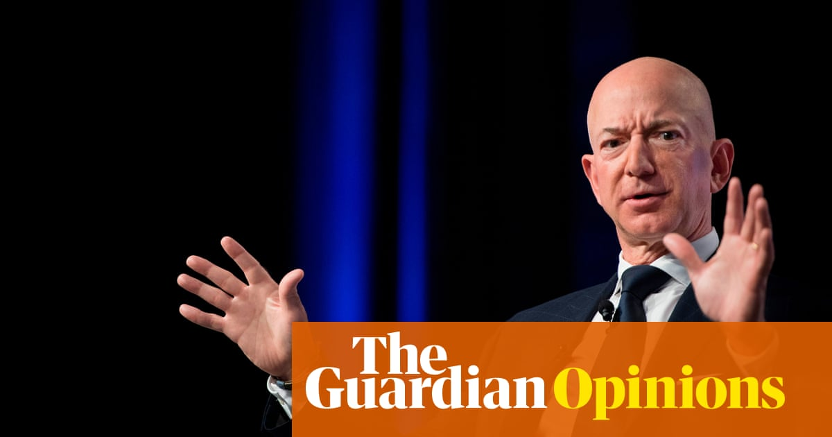 In the age of Trump and Bezos, public life is one big smutty ancient Greek vase | Marina Hyde