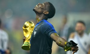 Pogba excelled for France at Russia 2018.