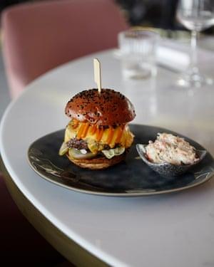 Vivi's beef burger offered ' no surprises'.