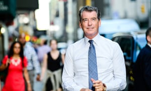'I came in knowing full well it's hard to be a great actor, and hard to be a good actor' ... Pierce Brosnan.
