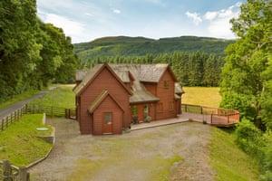 Guay Lodge, near Dunkeld,Perthshire