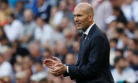 'I feel at home here': Zidane on first match back as Real Madrid coach – video