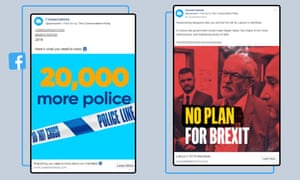 Facebook election adverts