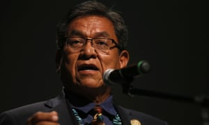 Navajo Nation president, Russell Begaye