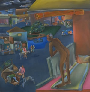 You Can't Please All (1981) by Bhupen Khakhar