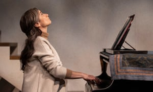 Divine inspiration … Ruth Lass as a reclusive concert pianist in the RSC's Crooked Dances.