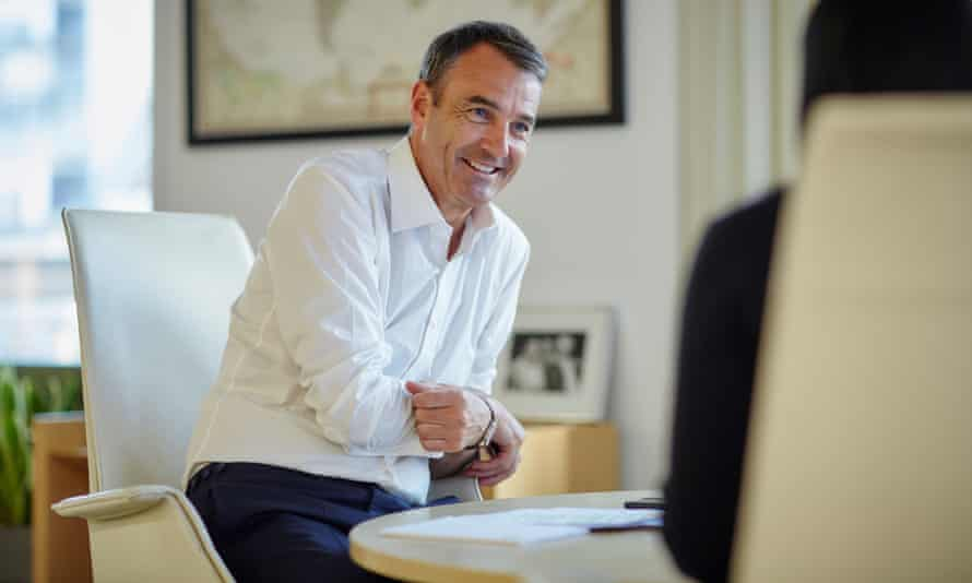 BP's incoming chief executive, Bernard Looney.