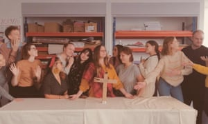 Trainee teachers at the University of the West of England reproduce the Last Supper