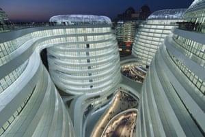 Hadid's Soho Galaxy property development in Beijing, China.